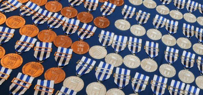 Reconhecimento | Braga honra mérito individual e coletivo com medalhas municipais
