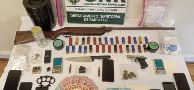 Crime | GNR detém 4 pessoas em Barcelos