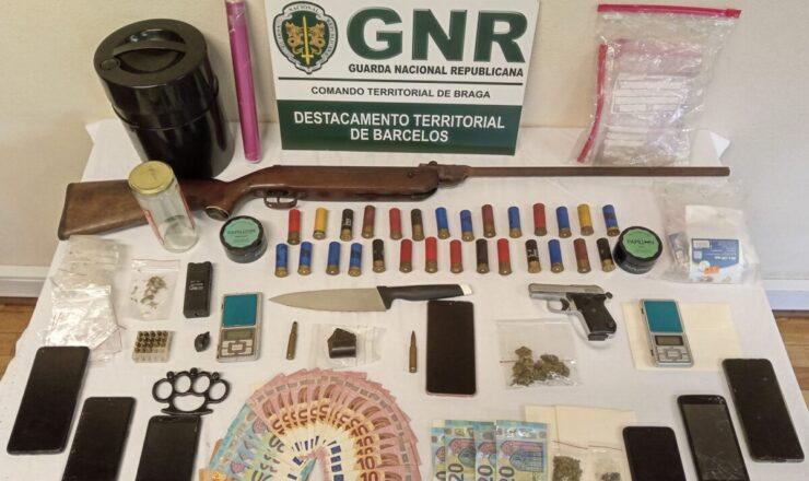 GNR Braga - Apreensão de droga em Barcelos 22112020