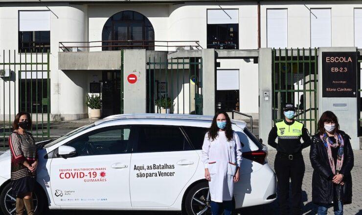 Guimarães GMR escolas Covid-19