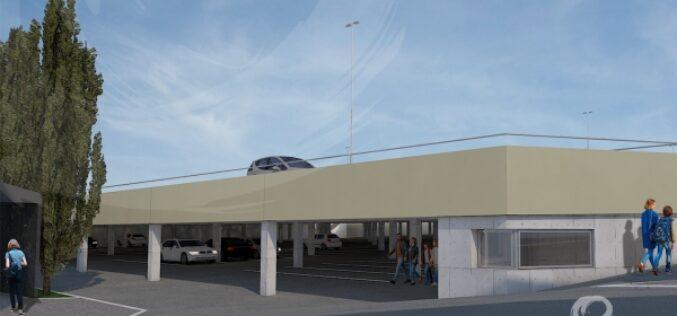 Urbanismo | Parque de Estacionamento do antigo Quartel prossegue obras a bom ritmo na Póvoa de Varzim