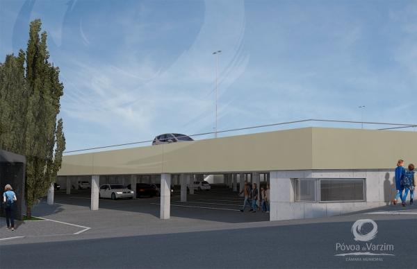 PVZ - obras-do-parque-de-estacionamento-do-antigo-quartel-seguem-a-bom-ritmo-600x388
