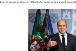 Negócios | Governo apoia empresas com 1.550 milhões de euros